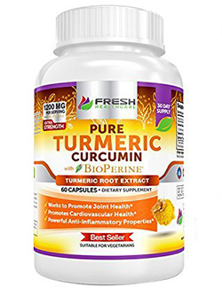 Easy-Intake Capsules without Strong Turmeric Flavor