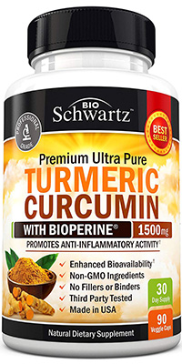 best turmeric supplement: