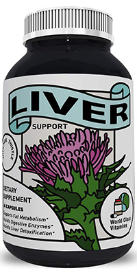 supplements for fatty liver: