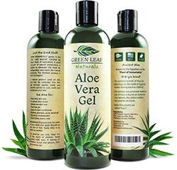 A home-grown aloe gel