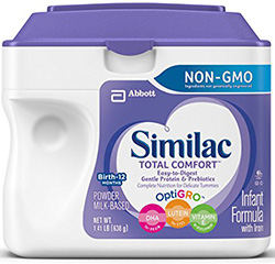Total comfort from Similac