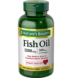 Fish Oil Based Softgels