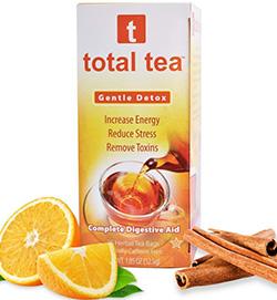 A relaxing herbal drink