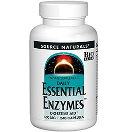 Extra enzymes for your body