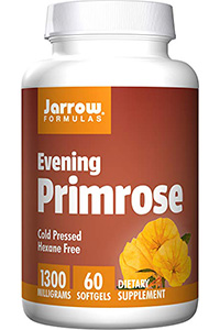 best quality evening primrose oil: Evening Primrose- 60 Softgels by Jarrow Formulas