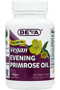 best quality evening primrose oil: Vegan Evening Primrose Oil- 90 Count by DEVA