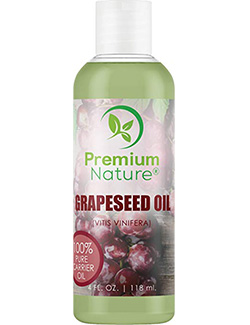 best grapeseed oil: Premium Nature Pure Grapeseed Carrier Oil