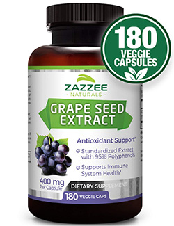 best grapeseed oil: Jazzee Grape Seed Extract Supplement