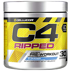 Cellucor C4 Ripped Pre Workout Powder, Thermogenic Metabolism Booster For Men & Women with Green Coffee Bean Extract