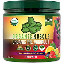 USDA Certified Organic Pre Workout Powder