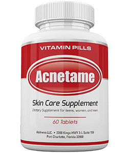 best acne supplements: Acnetame- Vitamin Supplements for Acne Treatment