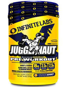 Supports Intense Muscle Workout